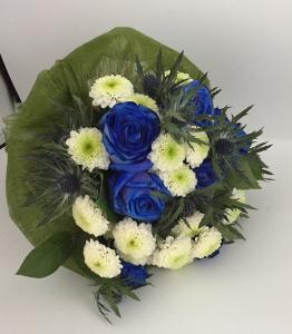 White-Blue Bouquet