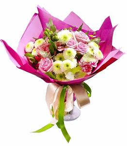 White-Pink Bouquet