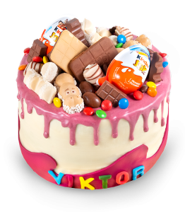 Children cake with Kinder