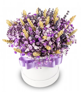 Purple Gypsophila Box