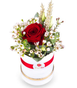 Circle box of roses 1 PC