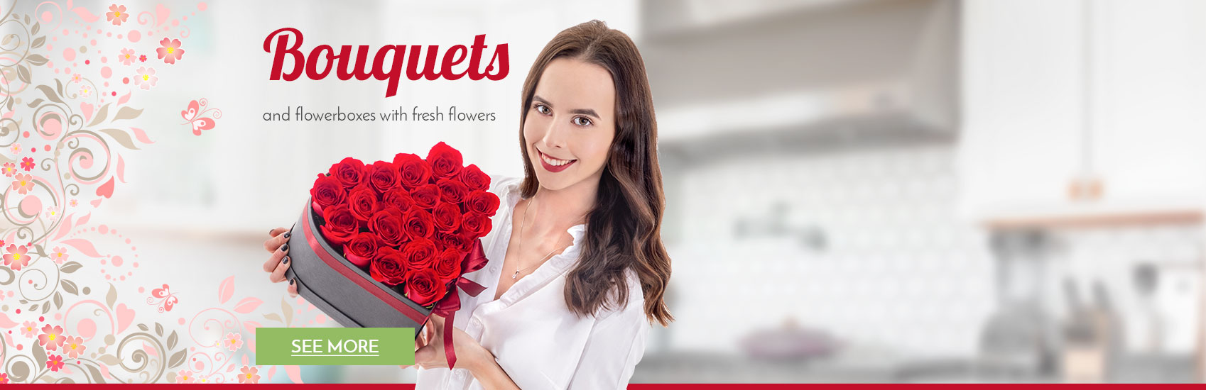Bouquets and flowerboxes