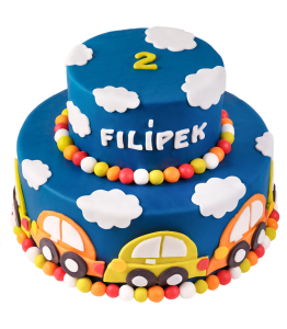 Children's birthday cake Cars