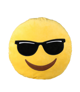 Plush Pillow Emoji Cool