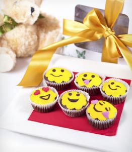 Smiley Cupcakes