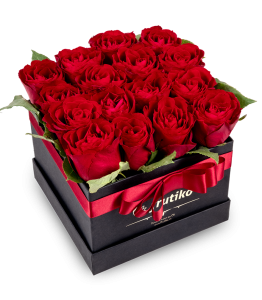Black Box of Red Roses