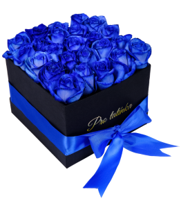 Black Box of Blue Roses For dad