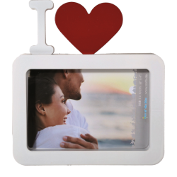 Picture Frame with Heart