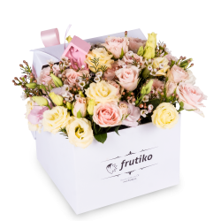 Wedding flower box