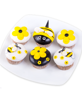 Bee muffins
