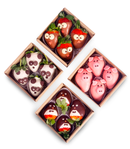Animal Strawberries