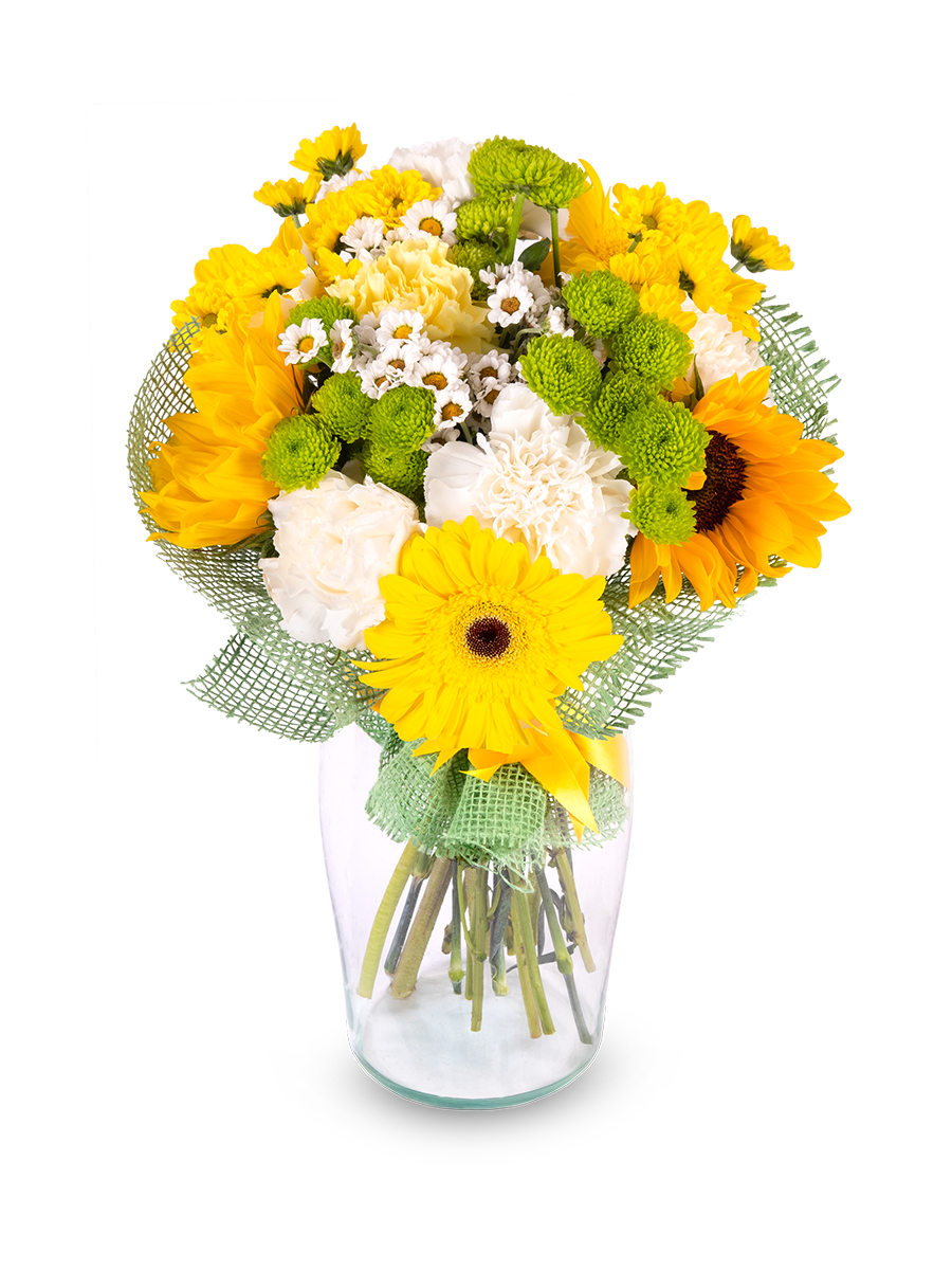 Flower Bouquet Sunflower Frutiko Cz