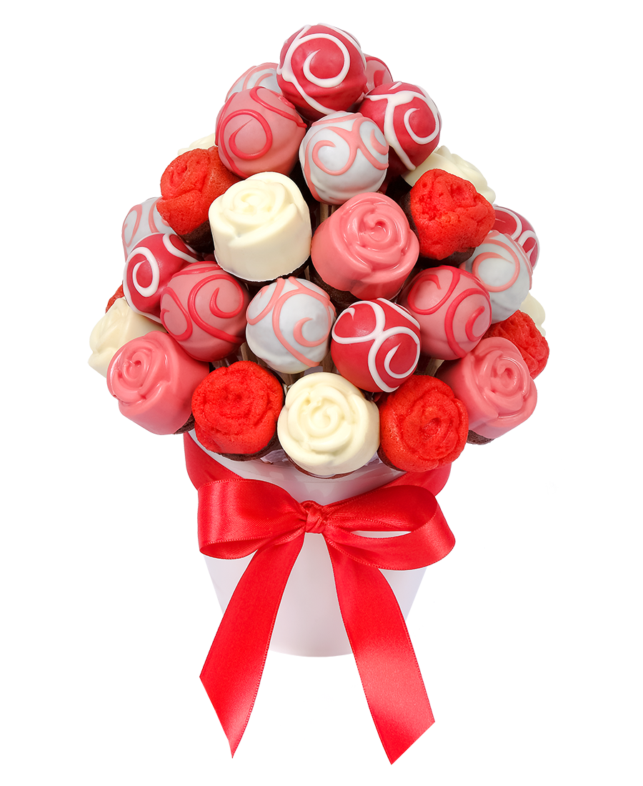 Cake Bouquet Pink Popcakes
