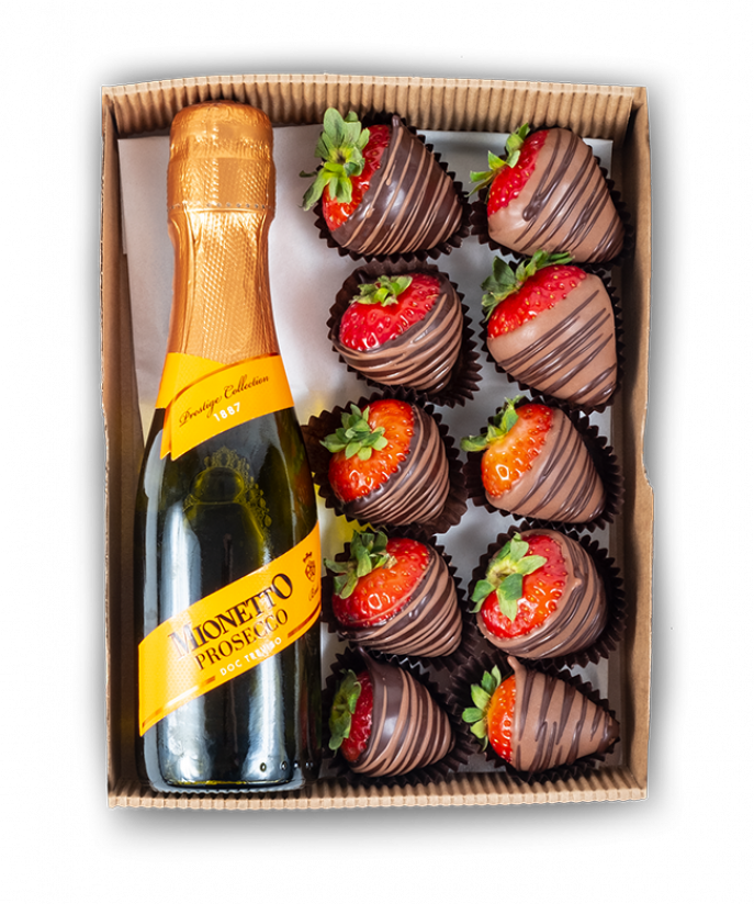 Strawberries and Prosecco